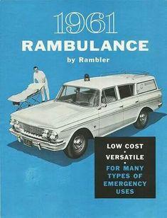 """1961 Rambler """"Rambulance"""""""