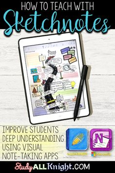 How to Teach with Sketchnotes: Deep Understanding & Visual Note-Taking