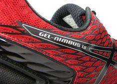 ASICS Mens GEL-NIMBUS 18 RACING RED  NEW