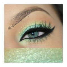 Seafoam Green Eyeshadow.