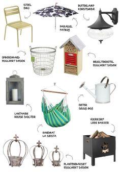 Top 10 producten voor in de tuin - Myhomeshopping.nl #inspiration #garden #top10 #shopping #myhomeshopping