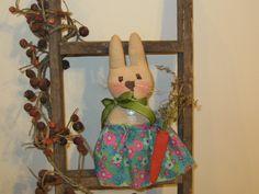 Bunny Decoration - Easter Decoration - Bowl Filler - Shelf Sitter - Spring by LoveAndStitchesToYou on Etsy