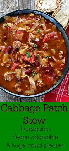 Cabbage Soup. Super easy and delicious!