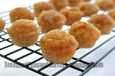 Donut muffins:  close to tastefully simples, but not quite as good!