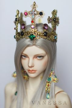 The Prince BJD, gorgeous faceup, simple but dramatic