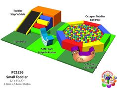 Commercial Indoor Playground Equipment for Fitness Recreation Centers #WeBuildFun #ForAllAges  or contact us at http://www.internationalplayco.com/contact-us