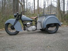 1940 INDIAN SCOUT DISPATCH TOW TRIKE