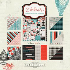 Authentique Celebrate line