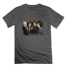Jahei Custom The Rolling Stones T Shirt For Mens DeepHeather XX-Large