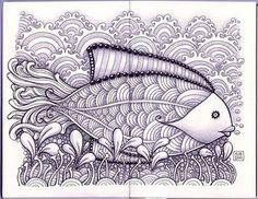 fish - great curvy lines