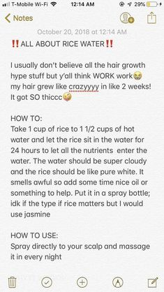 Rice water for hair - Hair Loss Treatment Long Hair Tips, Natural Hair Care Tips, Curly Hair Tips, Curly Hair Care, Natural Hair Styles, Curly Hair Growth, Natural Hair Regimen, Afro Hair Growth Tips, Natural Hair Care Products