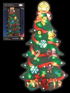 christmas silhouette light led window festive xmas decoration battery operated - Battery Operated Mini Christmas Lights