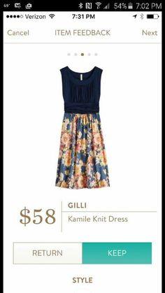 Gilli Kamile Knit Dress love!!