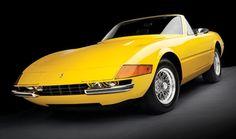 Ferrari Daytona Spider in Fly Yellow
