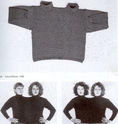// Rosemarie Trockel / Schizo-pullover (1994)
