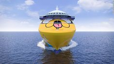 Cartoon Network reveals colorful new cruise ship