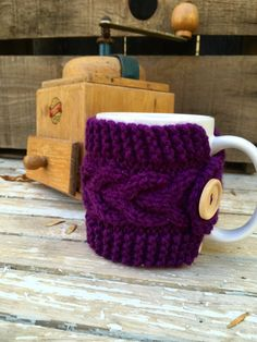 A personal favorite from my Etsy shop https://www.etsy.com/listing/486751985/coffee-mug-cozy-coffee-cup-cozy-travel