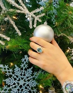 "A "" Blue Christmas"" doesn't have to be a bad thing ;) #11shoppingdaysleft #Christmas #JohnsonJewelers"