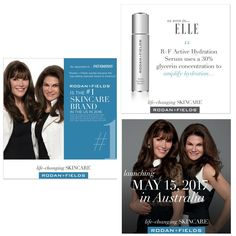 Here are some quick reasons why you CAN'T pass up the opportunity to join Rodan + Fields: -We are the #1 skincare company in North America!  - We have been the fastest growing skincare company 6 years in a row!  - In 2016 we were a BILLION dollar company!  - We are becoming a GLOBAL company- launching into Australia next month!  - We have a GAME CHANGER new product coming out in 12 days!!! I am SO freakin' excited! Message me today to be part of the fun! A free regimen could be yours too! :)