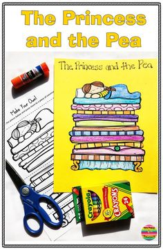 The Princess and the Pea: Activities and Comprehension Fairy Tales Unit, Fairy Tales For Kids, Reading Comprehension Strategies, Comprehension Worksheets, Story Elements Posters, Fairy Tale Projects, Kindergarten Lesson Plans, Kindergarten Teachers, Cause And Effect Activities
