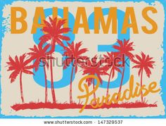 vector illustration drawing.pacific surf beach.Tropical island, summer tropical heat print, summer print,t-shirt summer print by swsctn, via...