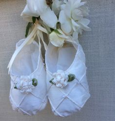 Abigail Christening Shoes