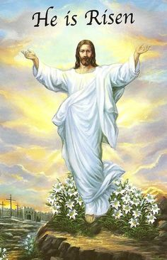 Happy Ascension Day of Jesus Christ Religious Quotes and Wishes Jesus Ressuscité, Jesus Has Risen, Christ Is Risen, Jesus Resurrection, Jesus Art, Easter Sunday Images, Sunday Pics, Sunday Quotes, Good Friday Images