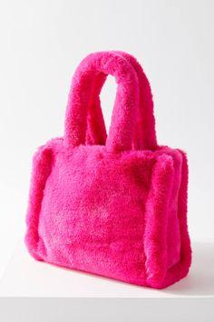 My Bags, Purses And Bags, Diy Vetement, Fur Bag, Cute Bags, Beautiful Bags, Mini Bag, Bag Making, Faux Fur