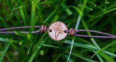 Fußkettchen Palme     GUFRU Glass Beads, Stud Earring, Necklaces