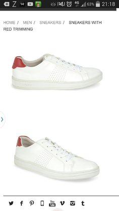 Pedro white sneakers