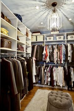 Small Walk In Closet Design, Pictures, Remodel, Decor and Ideas