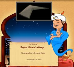 why is this on akinator