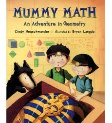 Mummy Math! Get your librarian to get this one!