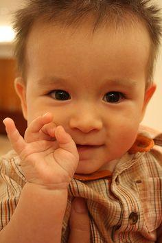 Kazakh baby