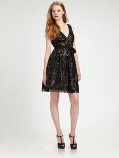 So pretty!!!  BCBGMAXAZRIA - Sequined Dress - Saks.com