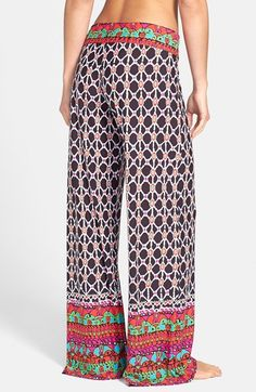 Trina Turk Foldover Cover-Up Pants   Nordstrom