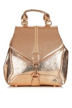 **Agate Rose Gold Backpack by Skinnydip