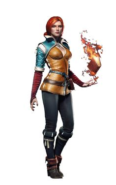 Triss Merigold from Witcher 3 Witcher Triss, Ciri, The Witcher Game, Witcher 3 Wild Hunt, Triss Merigold, Female Elf, Blood Elf, Fantasy Characters, Fictional Characters
