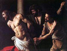 """""""Flagellazione di Cristo"""" - dipinto - 1607 - «Museo delle Belle Arti» Rouen - Francia"""