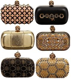 An array of little clutches BellaDonna Alexander Mcqueen Clutch, Clutch Purse, Purse Wallet, Givenchy, Leila, Beautiful Bags, Swagg, Olivia Palermo, Gigi Hadid