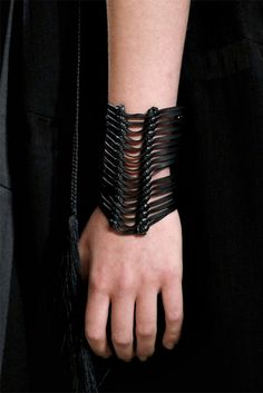 What Would Khaleesi Wear?  warriorqueensupreme:    Ann Demeulemeester S/S 2012