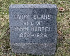 Emily Sears Hubbell (1852 - 1929) - Find A Grave Photos