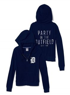 Shop our College Gear Collection and show off your school spirit! Find cute collegiate apparel perfect for everything from game day to class. Only at PINK. All About Tigers, Football And Basketball, Baseball, Detroit Tigers, Sport Outfits, Style Me, Sportswear, Victoria's Secret, Zip