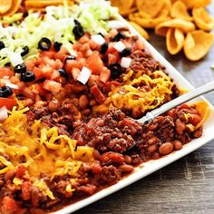 Make this TEXAS TACO DIP for your Super Bowl partyhellip