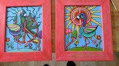 Hippie flamingos