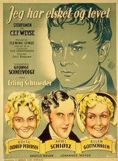 Jeg har elsket og levet (1940)