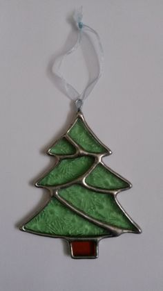 christmas tree pattern stained glass - Google Search