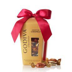 Individually Wrapped Caramels Gift Box  #Godiva