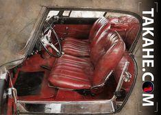 Alfa Romeo 2600 Touring Spider • Sie können dieses Motiv auch ohne mein Copyright als hochwertigen Druck auf Metall über den Link bestellen.