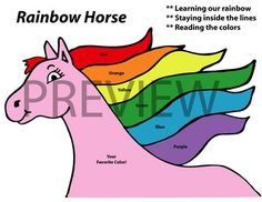 I Designed It For Kindergarten But Even My Older Students Love This Helps To Remember The Colors Of Rainbow